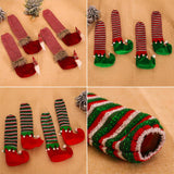 Load image into Gallery viewer, Chair Foot Covers Christmas Decor