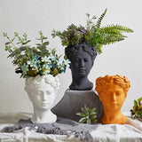 Load image into Gallery viewer, Greek Goddess Head Flower Pots