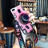 Load image into Gallery viewer, Vintage Camera lanyard Case - inspirexpress.com