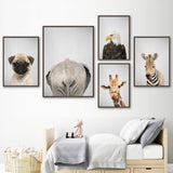 Load image into Gallery viewer, Animal Canvas Prints Wall Pictures Decor