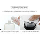 Pump Makeup Bottle 2 Pcs - inspirexpress.com