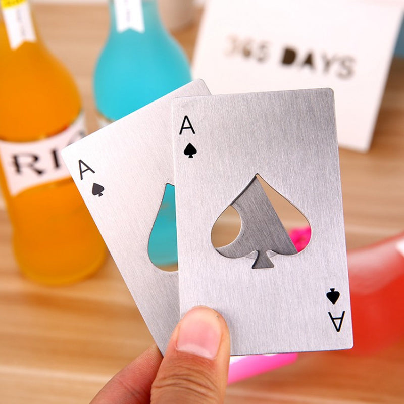 Poker Card Beer Bottle Opener - inspirexpress.com