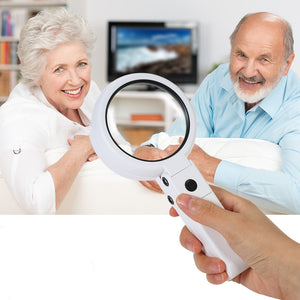 Portable Foldable Illuminated Magnifier - inspirexpress.com