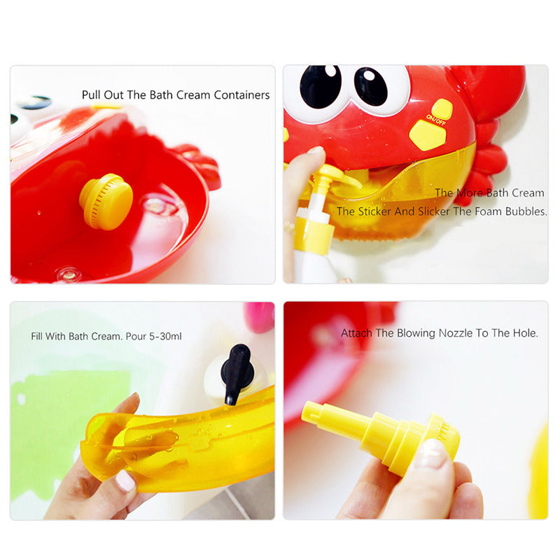Baby Bath Bubble Toy - inspirexpress.com