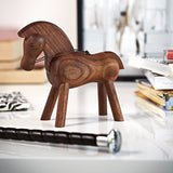 Load image into Gallery viewer, Walnut Wood Horse Home Accessories