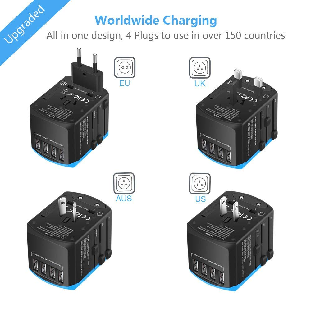 Universal Travel Adapter - inspirexpress.com