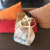 Load image into Gallery viewer, Mesh Woven Grocery Bag - inspirexpress.com