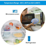 Silicone Sealing Lids - 6 Pcs - inspirexpress.com