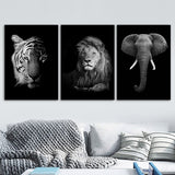 Load image into Gallery viewer, Black White Quotes Wall Art Canvas Painting