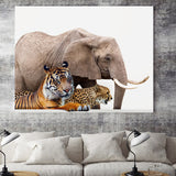 Load image into Gallery viewer, Animals Wall Art Canvas Painting Picture