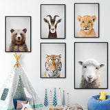 Load image into Gallery viewer, Animal Art Prints Canvas Painting Poster