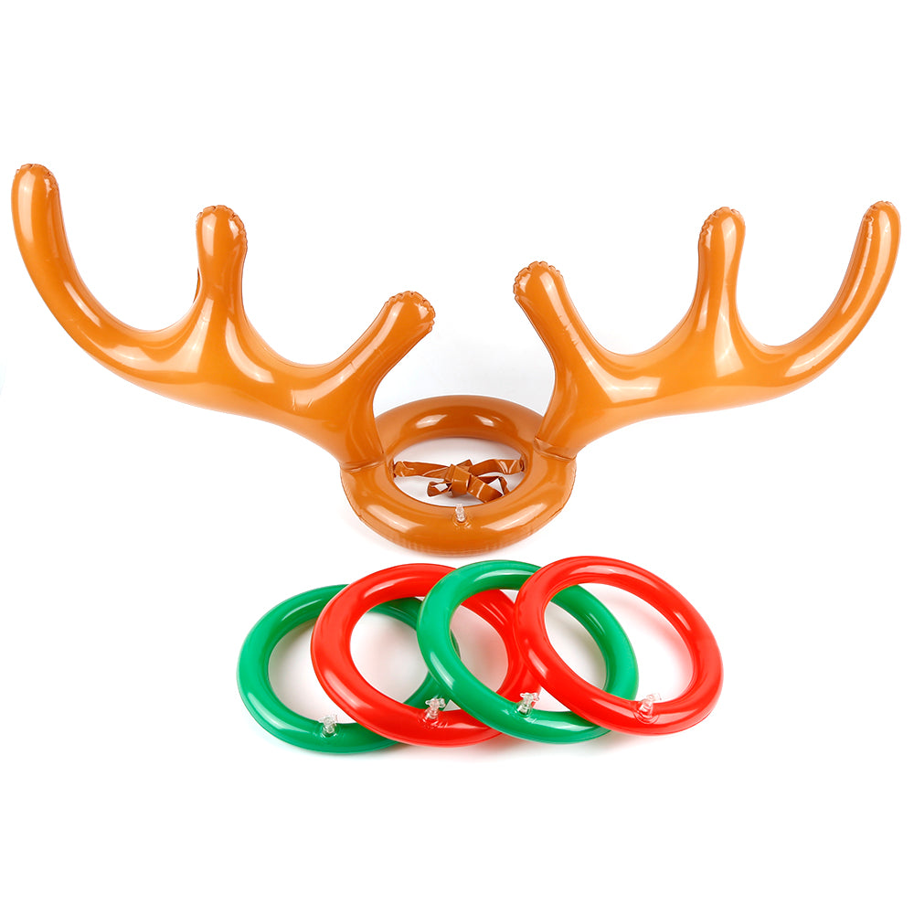 Reindeer Antler Ring Toss Toy - inspirexpress.com