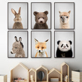 Load image into Gallery viewer, Prints Nursery Wall Art Canvas Painting Picture