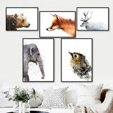 Load image into Gallery viewer, Nursery Wall Art Canvas Painting Pictures