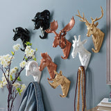 Load image into Gallery viewer, Animal Head Crafts Wall Hanging Door Hook