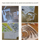Load image into Gallery viewer, 3D Paper Model Wall Decoration