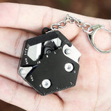 Load image into Gallery viewer, Hexagonal Keychain Tool Set