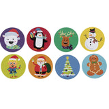 Load image into Gallery viewer, Christmas Cartoon Sticker