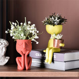 Load image into Gallery viewer, Art Portrait Sculpture Flower Pot