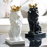 Load image into Gallery viewer, 3D Lion Statue Home Decor