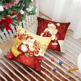Load image into Gallery viewer, Christmas Decor Cushion Cover
