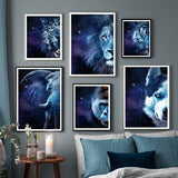 Load image into Gallery viewer, Abstract Wall Art Canvas Prints Wall Pictures