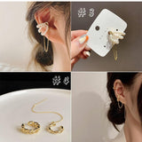 Load image into Gallery viewer, Rhinestones Ear Wrap Accessory