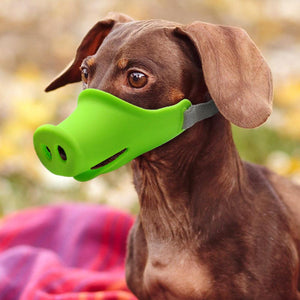 Anti-bite Dog Muzzle Dog GEEKS1024 S Green