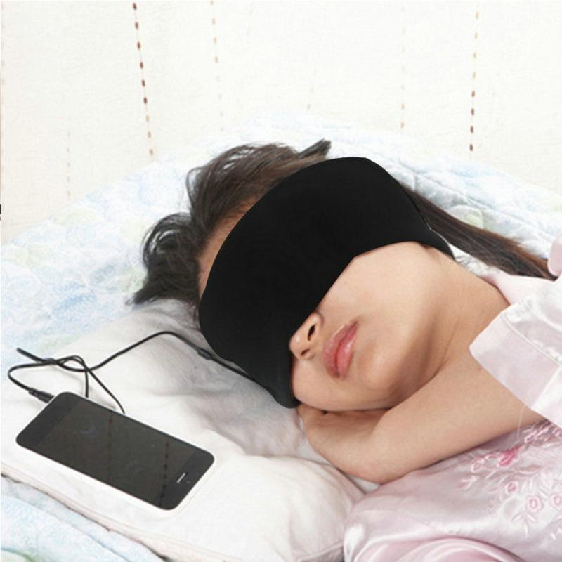 Anti-noise Sleeping Headphones Headphones InspirExpress Black