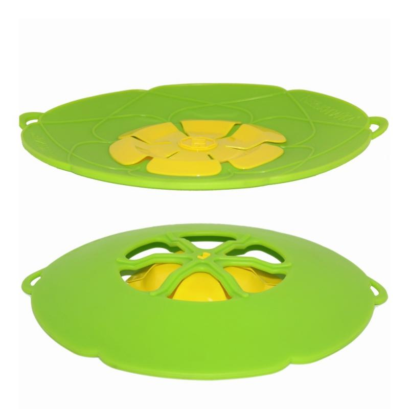 Anti-overflow Splash Silicone Cover Cover InspirExpress Green