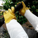 Anti Sting Beekeeper Garden Glove Gloves InspirExpress