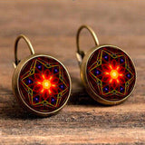 Antique Bohemian Earring Earring InspirExpress Star of Fire