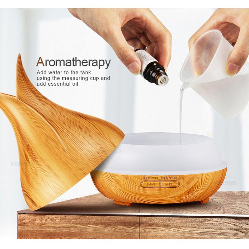 Aroma Essential Oil Diffuser Diffuser InspirExpress