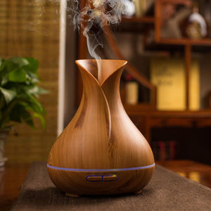 Aroma Essential Oil Diffuser Diffuser InspirExpress Light Wood AU