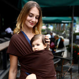 Baby Carrier Sling Sling GEEKS1024 Brown