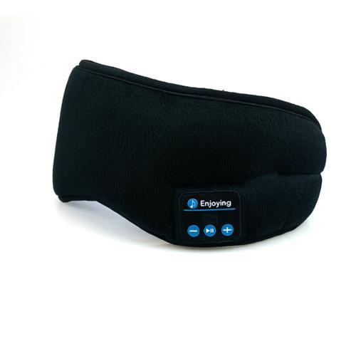 Bluetooth Sleeping Eye Mask Headset Eye Mask InspirExpress Black