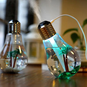 Bulb Lamp Humidifier Humidifier InspirExpress Gold