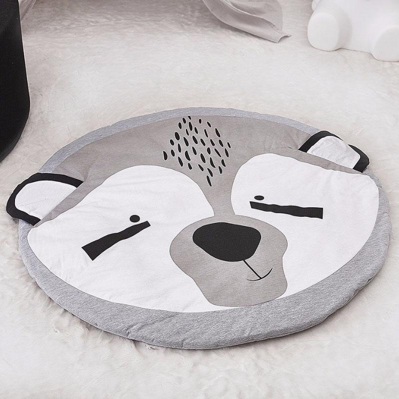 Cartoon Animals Crawling Mat Mat InspirExpress Little Panda