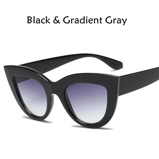 Cat Eye Sunglasses Glasses GEEKS1024 One Purple