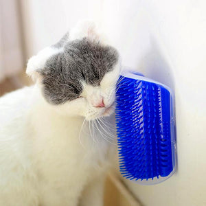 Cat Self Grooming Brush Brush InspirExpress Blue