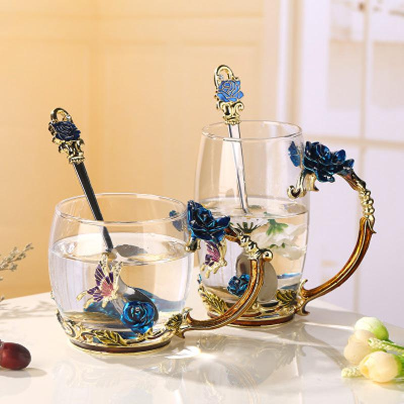Chic Enamel Cup Cup InspirExpress