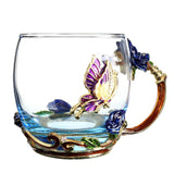 Load image into Gallery viewer, Chic Enamel Cup Cup InspirExpress
