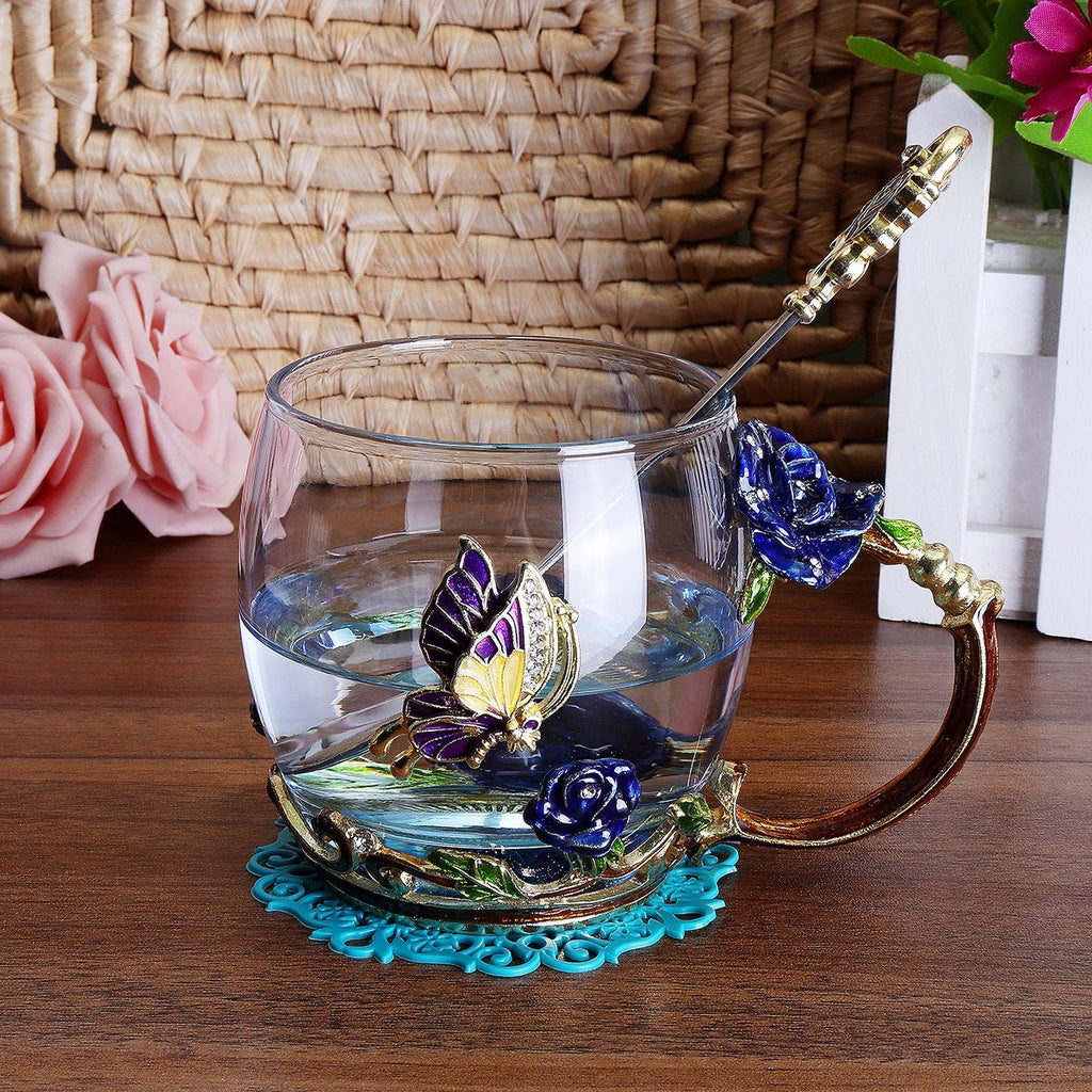Chic Enamel Cup Cup InspirExpress Wide Style