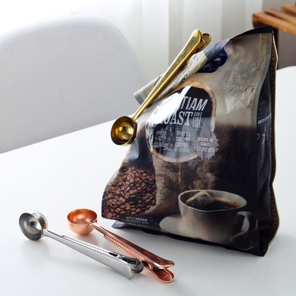 Coffee Bag Clip Scoops