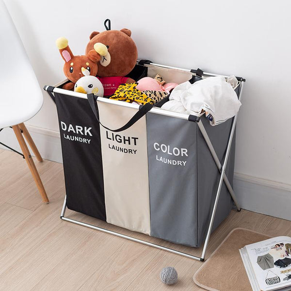 Collapsible Grids Laundry Basket