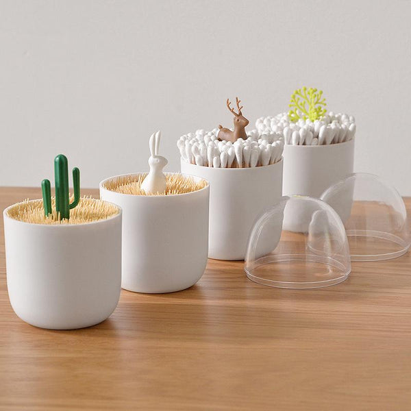 Creative Cotton Swab Holder