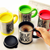 Creative Stainless Steel Self Stirring Mug Mug GEEKS1024