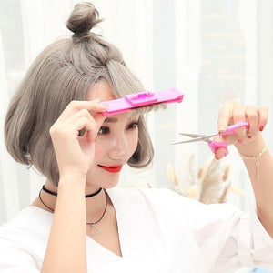 DIY Trim Bangs Set Hair InspirExpress