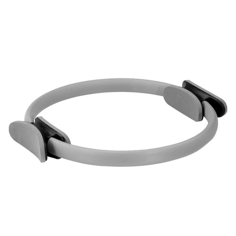 Dual Grip Yoga Training Ring Training Ring InspirExpress Gray
