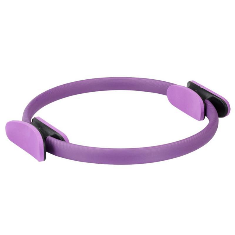 Dual Grip Yoga Training Ring Training Ring InspirExpress Purple